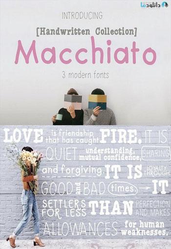 Macchiato Font