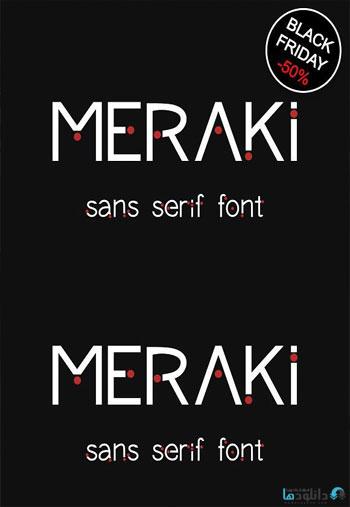Meraki-font