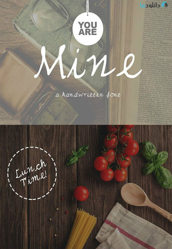 Mine-Handwritten-Font