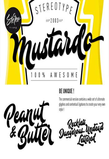 Mustardo-Font