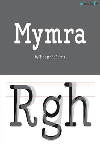 Mymra-Font