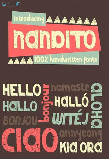 Nandito Font