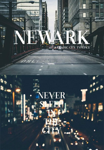 Newark-Font