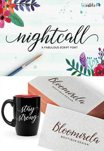 Nightcall Font Family