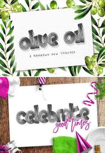 Olive-Oil-Font
