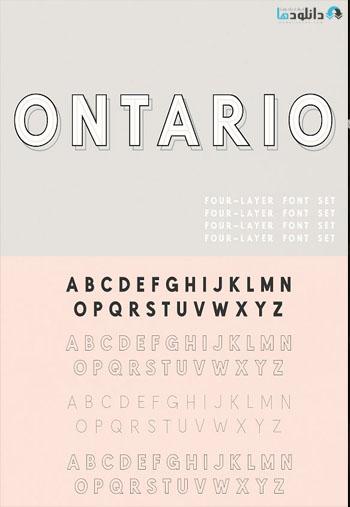 Ontario Font