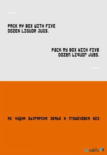 PACCBET-Font