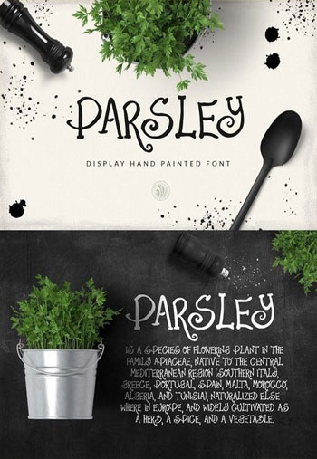 Parsley-Font