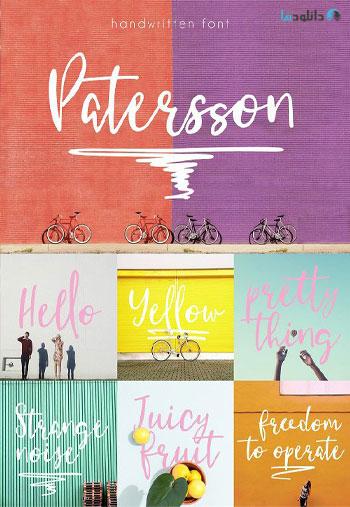Patersson-Font