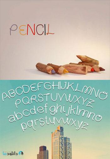 Pencil-font