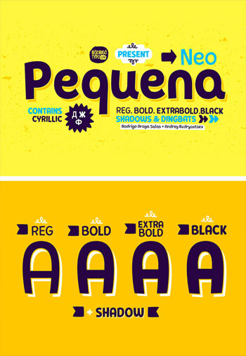 Pequena-Neo-Font-Family