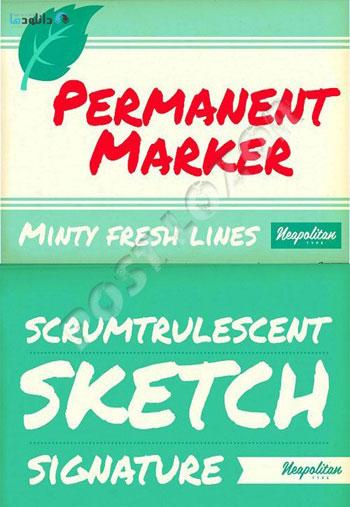 Permanent-Marker-Pro-Font