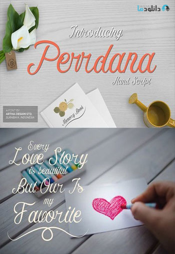 Perrdana-Hand-Script