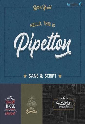 Pipetton-Font