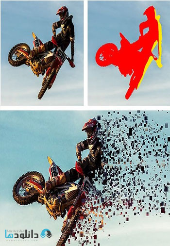 Pixelate-Photoshop-Action
