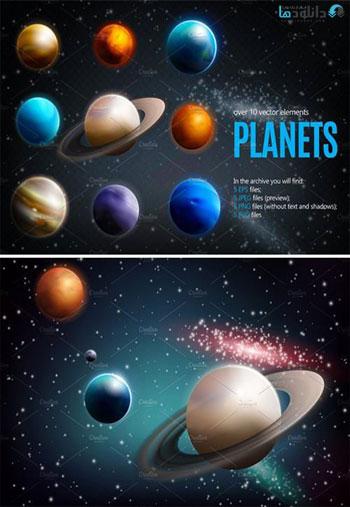 Planets-Realistic-Set