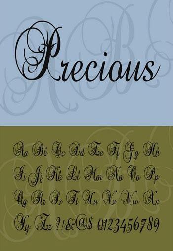 Precious-Font