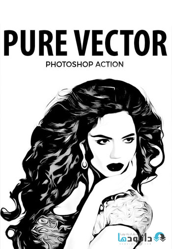 Pure Vector Photoshop Action
