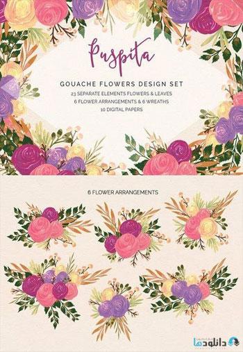 Puspita-Gouache-Flowers