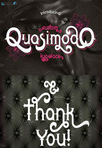 Quasimodo-font