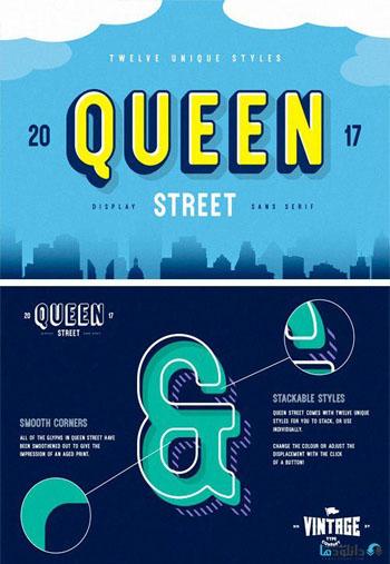 Queen Street Font