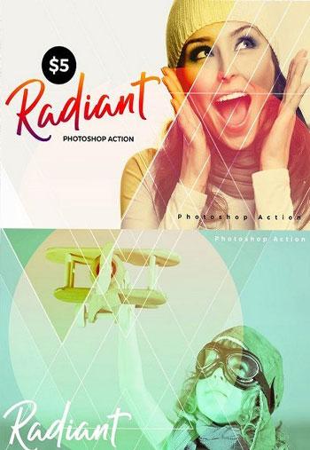 Radiant Photoshop Action