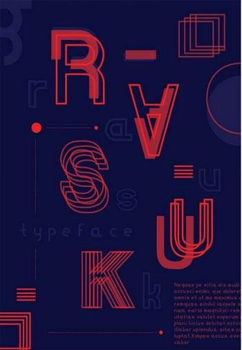 Rasuk-Typeface