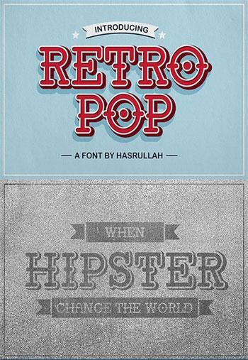 Retro-Pop-Font