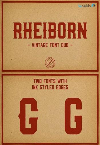 Rheiborn-Font