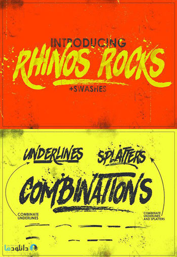 Rhinos-Rocks