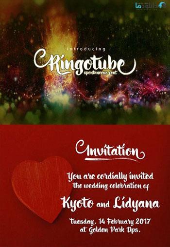 Ringotube-Font