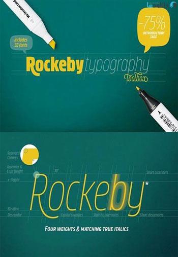 Rockeby-Typography
