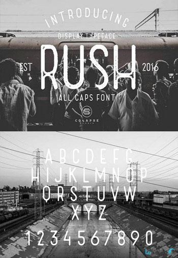 Rush-Display-Fonts