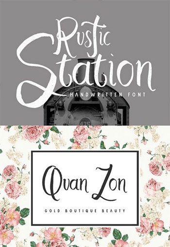 Rustic-Station-Typeface