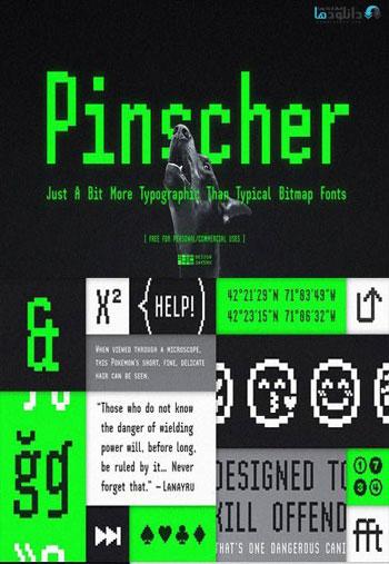 SH-Pinscher-Font