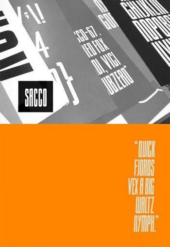 Sacco-Font