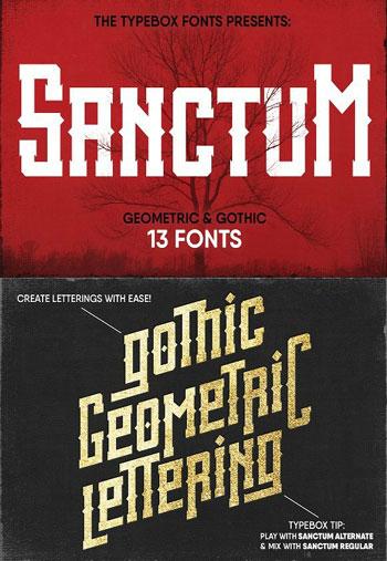 Sanctum-Font-Pack
