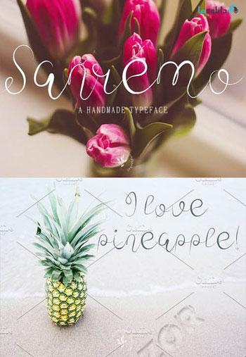 Sanremo-Fonts-Script