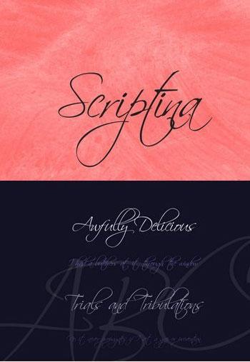 Scriptina-Font-Family