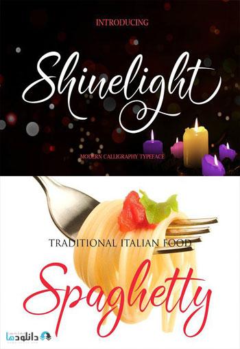 Shinelight-Font