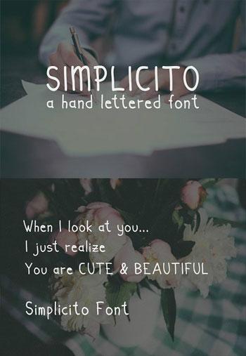 Simplicito-Hand-Written
