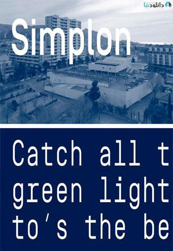 simplon-font