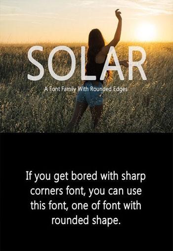 Solar-Font