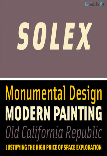 Solex-Font