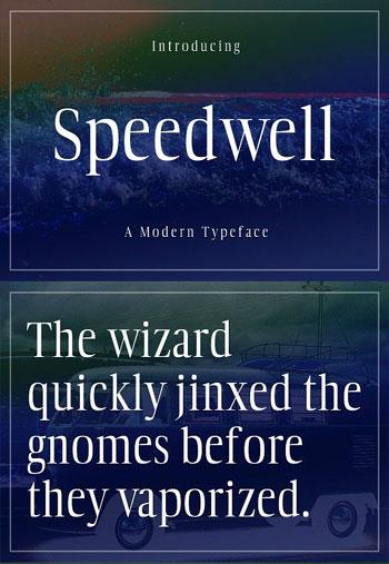Speedwell-Typeface-Font