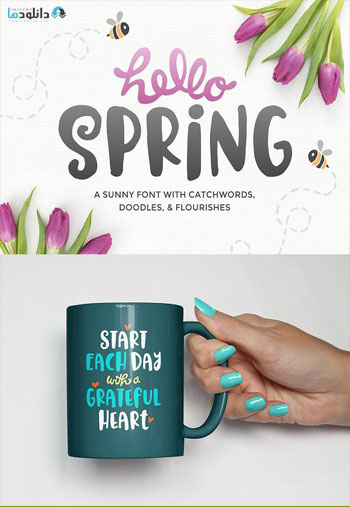 Spring Font