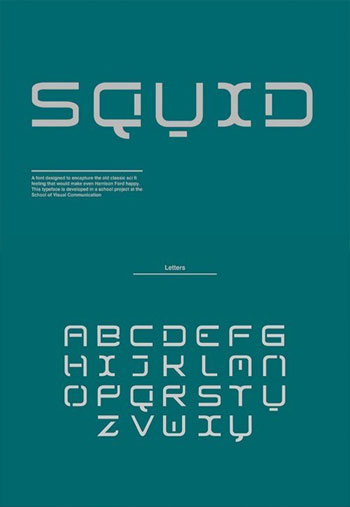 Squid-Font