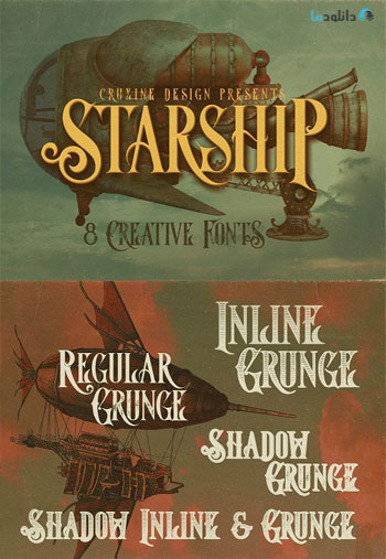 Starship-Typeface