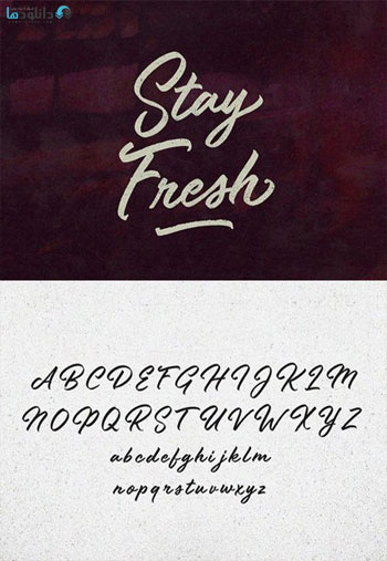 Stay Fresh Font