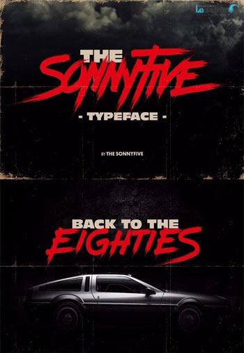 THE-SONNYFIVE-typeface